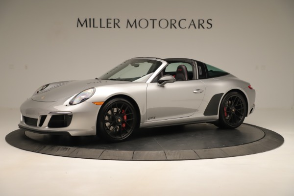 Used 2017 Porsche 911 Targa 4 GTS for sale Sold at Rolls-Royce Motor Cars Greenwich in Greenwich CT 06830 2