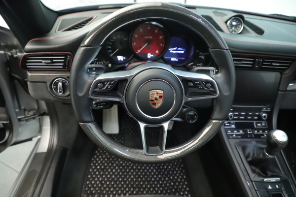 Used 2017 Porsche 911 Targa 4 GTS for sale Sold at Rolls-Royce Motor Cars Greenwich in Greenwich CT 06830 25