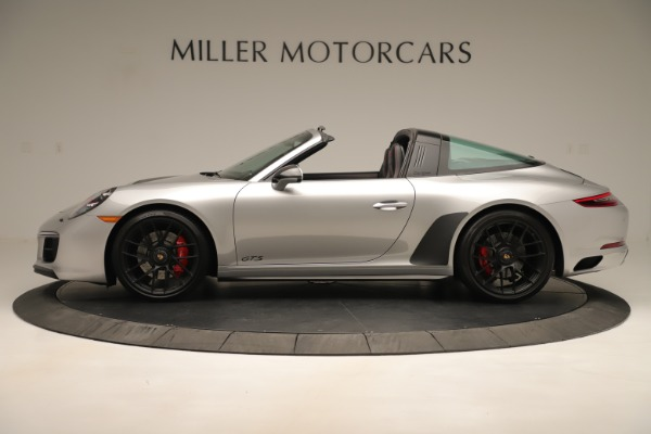 Used 2017 Porsche 911 Targa 4 GTS for sale Sold at Rolls-Royce Motor Cars Greenwich in Greenwich CT 06830 3