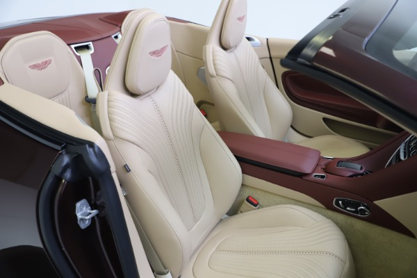 Used 2020 Aston Martin DB11 Volante for sale Sold at Rolls-Royce Motor Cars Greenwich in Greenwich CT 06830 26