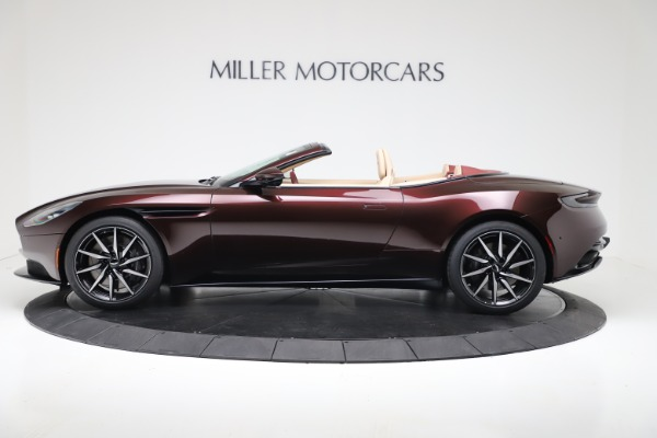 Used 2020 Aston Martin DB11 Volante Convertible for sale $223,900 at Rolls-Royce Motor Cars Greenwich in Greenwich CT 06830 3