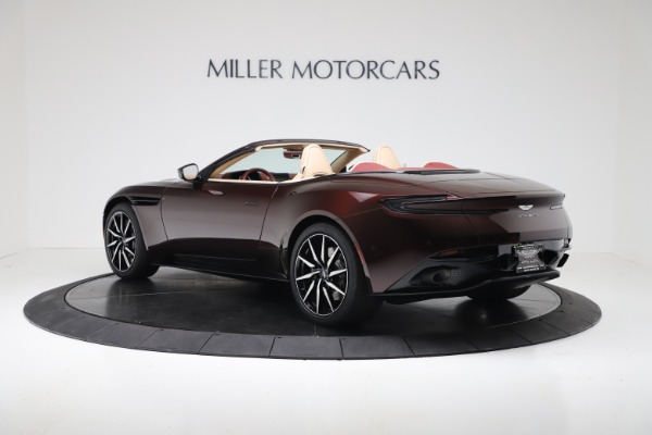 Used 2020 Aston Martin DB11 Volante Convertible for sale $223,900 at Rolls-Royce Motor Cars Greenwich in Greenwich CT 06830 4