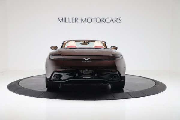 Used 2020 Aston Martin DB11 Volante Convertible for sale $223,900 at Rolls-Royce Motor Cars Greenwich in Greenwich CT 06830 5