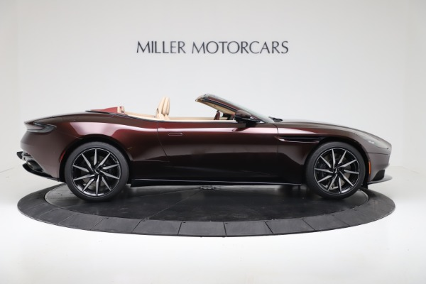 Used 2020 Aston Martin DB11 Volante for sale Sold at Rolls-Royce Motor Cars Greenwich in Greenwich CT 06830 8