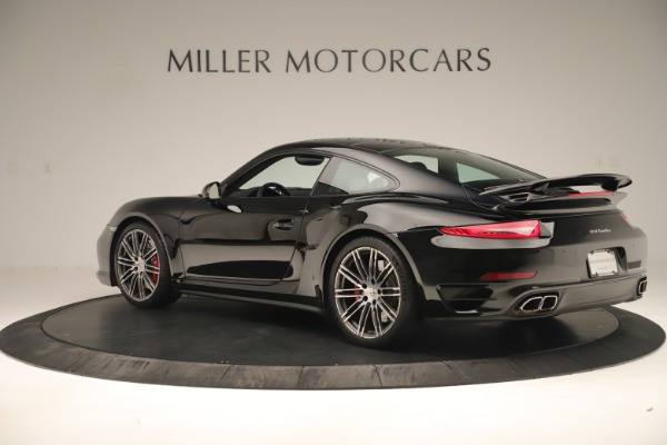 Used 2014 Porsche 911 Turbo for sale Sold at Rolls-Royce Motor Cars Greenwich in Greenwich CT 06830 4