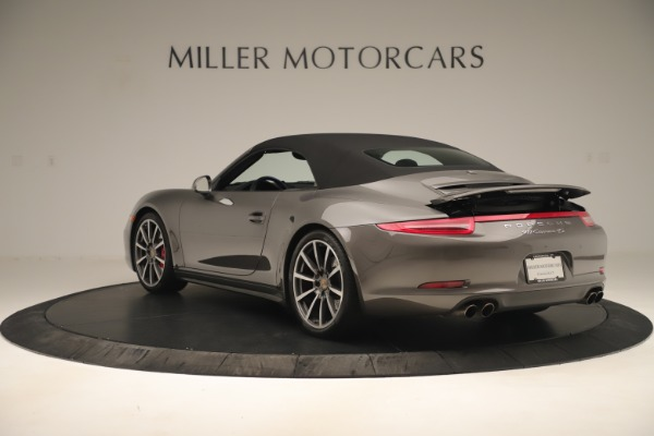 Used 2015 Porsche 911 Carrera 4S for sale Sold at Rolls-Royce Motor Cars Greenwich in Greenwich CT 06830 14
