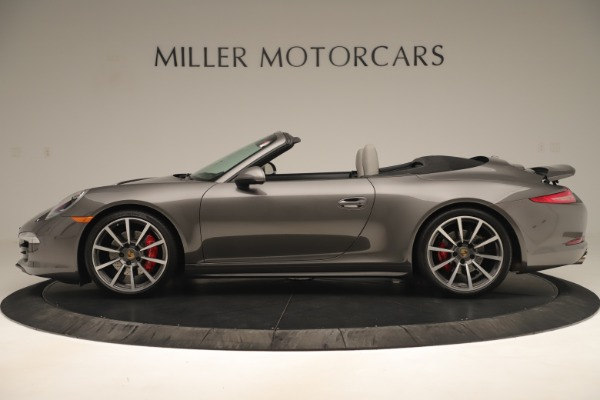Used 2015 Porsche 911 Carrera 4S for sale Sold at Rolls-Royce Motor Cars Greenwich in Greenwich CT 06830 3