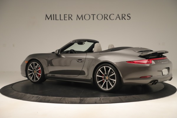 Used 2015 Porsche 911 Carrera 4S for sale Sold at Rolls-Royce Motor Cars Greenwich in Greenwich CT 06830 4