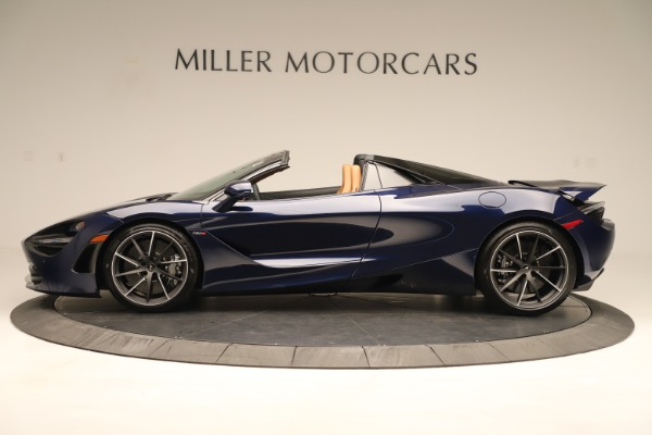 New 2020 McLaren 720S Spider Convertible for sale $372,250 at Rolls-Royce Motor Cars Greenwich in Greenwich CT 06830 2