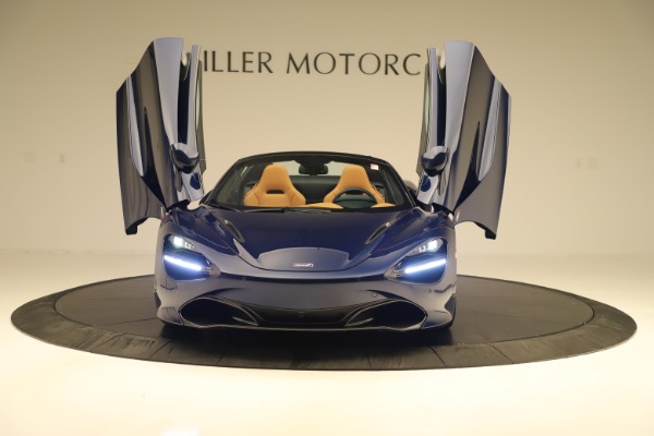 New 2020 McLaren 720S Spider for sale $372,250 at Rolls-Royce Motor Cars Greenwich in Greenwich CT 06830 27