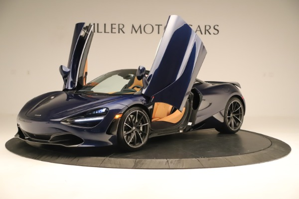 New 2020 McLaren 720S Spider Convertible for sale $372,250 at Rolls-Royce Motor Cars Greenwich in Greenwich CT 06830 28
