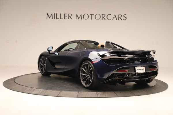 New 2020 McLaren 720S Spider for sale $372,250 at Rolls-Royce Motor Cars Greenwich in Greenwich CT 06830 3