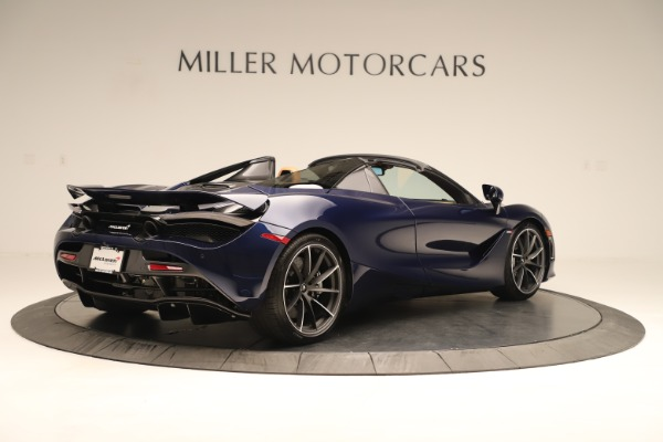 New 2020 McLaren 720S Spider Convertible for sale $372,250 at Rolls-Royce Motor Cars Greenwich in Greenwich CT 06830 4