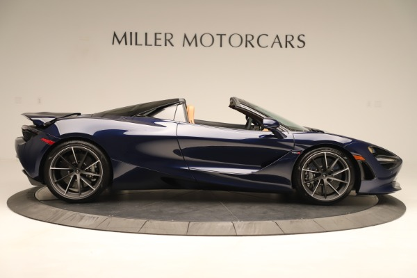 New 2020 McLaren 720S Spider for sale $372,250 at Rolls-Royce Motor Cars Greenwich in Greenwich CT 06830 5