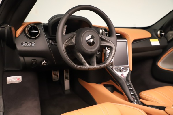 New 2020 McLaren 720S Spider Convertible for sale $372,250 at Rolls-Royce Motor Cars Greenwich in Greenwich CT 06830 8