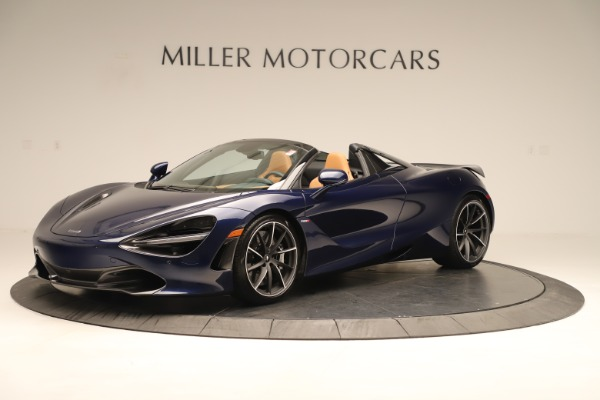 New 2020 McLaren 720S Spider Convertible for sale $372,250 at Rolls-Royce Motor Cars Greenwich in Greenwich CT 06830 1