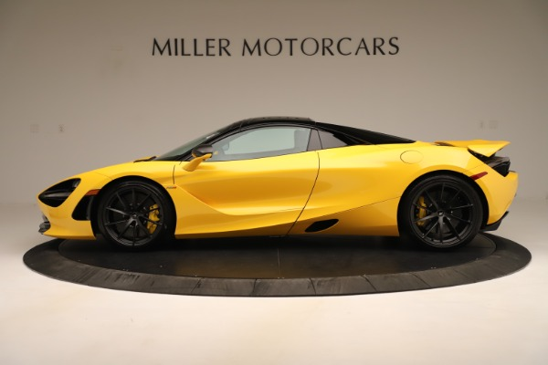 New 2020 McLaren 720S SPIDER Convertible for sale Sold at Rolls-Royce Motor Cars Greenwich in Greenwich CT 06830 3