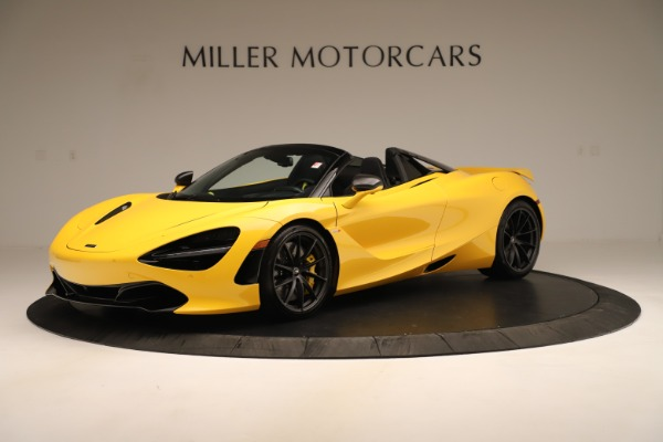 New 2020 McLaren 720S SPIDER Convertible for sale Sold at Rolls-Royce Motor Cars Greenwich in Greenwich CT 06830 1