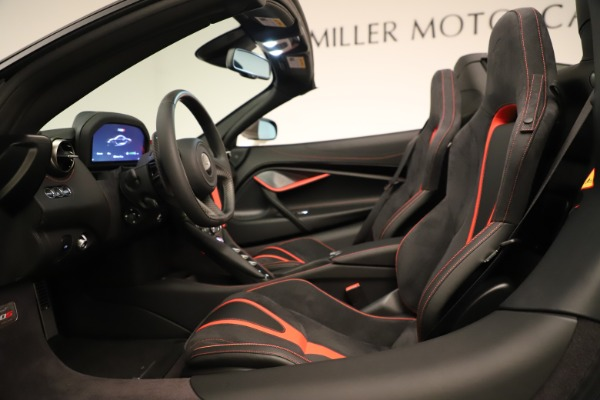 New 2020 McLaren 720S SPIDER Convertible for sale Sold at Rolls-Royce Motor Cars Greenwich in Greenwich CT 06830 27