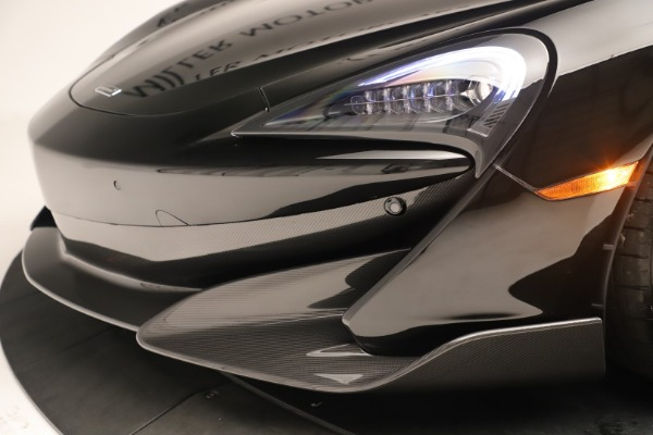 New 2019 McLaren 600LT Coupe for sale $278,790 at Rolls-Royce Motor Cars Greenwich in Greenwich CT 06830 19