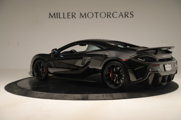 New 2019 McLaren 600LT Coupe for sale $278,790 at Rolls-Royce Motor Cars Greenwich in Greenwich CT 06830 3