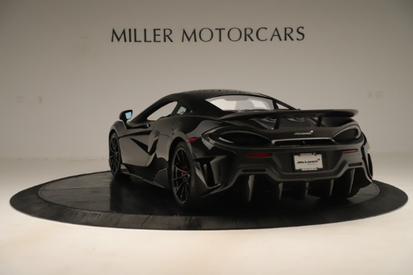 New 2019 McLaren 600LT Coupe for sale $278,790 at Rolls-Royce Motor Cars Greenwich in Greenwich CT 06830 4