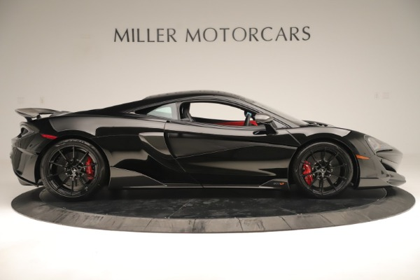 New 2019 McLaren 600LT Coupe for sale $278,790 at Rolls-Royce Motor Cars Greenwich in Greenwich CT 06830 8