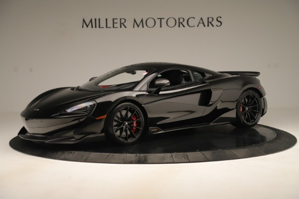 New 2019 McLaren 600LT Coupe for sale $278,790 at Rolls-Royce Motor Cars Greenwich in Greenwich CT 06830 1