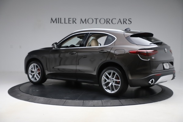 New 2019 Alfa Romeo Stelvio Ti Lusso Q4 for sale Sold at Rolls-Royce Motor Cars Greenwich in Greenwich CT 06830 4