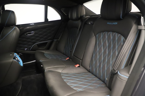 Used 2018 Bentley Mulsanne Speed Design Series for sale Sold at Rolls-Royce Motor Cars Greenwich in Greenwich CT 06830 25