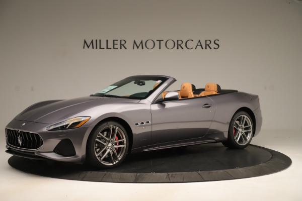 New 2019 Maserati GranTurismo Sport Convertible for sale Sold at Rolls-Royce Motor Cars Greenwich in Greenwich CT 06830 2