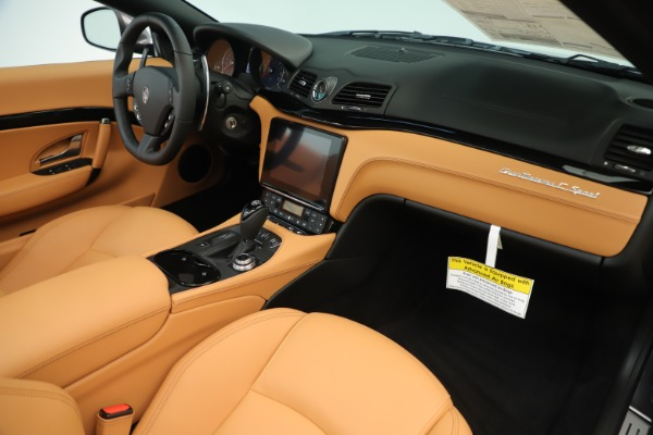 New 2019 Maserati GranTurismo Sport Convertible for sale Sold at Rolls-Royce Motor Cars Greenwich in Greenwich CT 06830 26