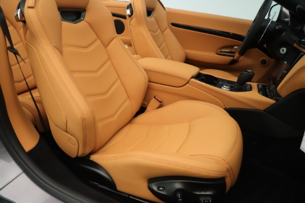 New 2019 Maserati GranTurismo Sport Convertible for sale Sold at Rolls-Royce Motor Cars Greenwich in Greenwich CT 06830 28