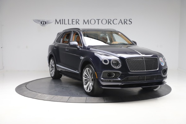 New 2020 Bentley Bentayga Speed for sale Sold at Rolls-Royce Motor Cars Greenwich in Greenwich CT 06830 11