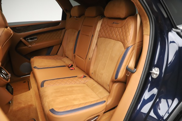 New 2020 Bentley Bentayga Speed for sale Sold at Rolls-Royce Motor Cars Greenwich in Greenwich CT 06830 26