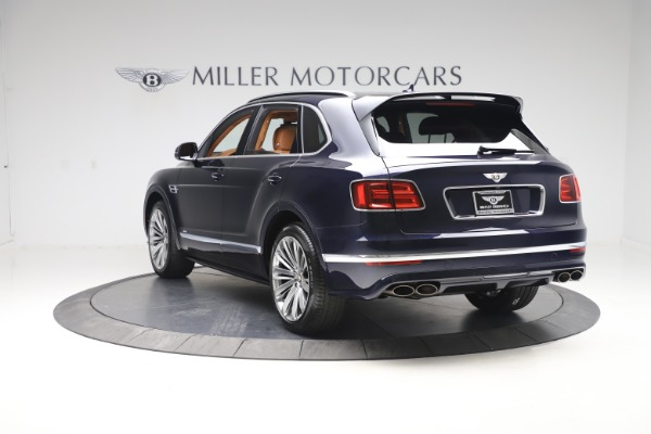 New 2020 Bentley Bentayga Speed for sale Sold at Rolls-Royce Motor Cars Greenwich in Greenwich CT 06830 5
