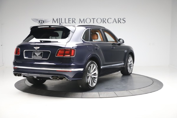New 2020 Bentley Bentayga Speed for sale Sold at Rolls-Royce Motor Cars Greenwich in Greenwich CT 06830 7