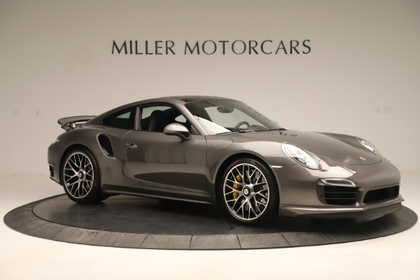Used 2015 Porsche 911 Turbo S for sale Sold at Rolls-Royce Motor Cars Greenwich in Greenwich CT 06830 10