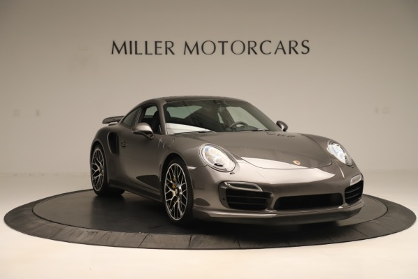 Used 2015 Porsche 911 Turbo S for sale Sold at Rolls-Royce Motor Cars Greenwich in Greenwich CT 06830 11