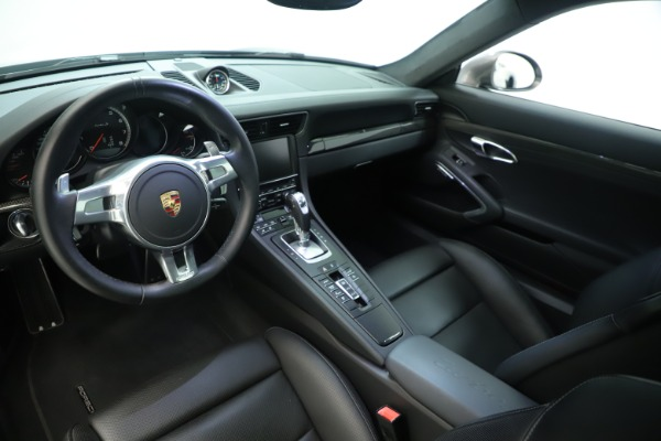 Used 2015 Porsche 911 Turbo S for sale Sold at Rolls-Royce Motor Cars Greenwich in Greenwich CT 06830 14