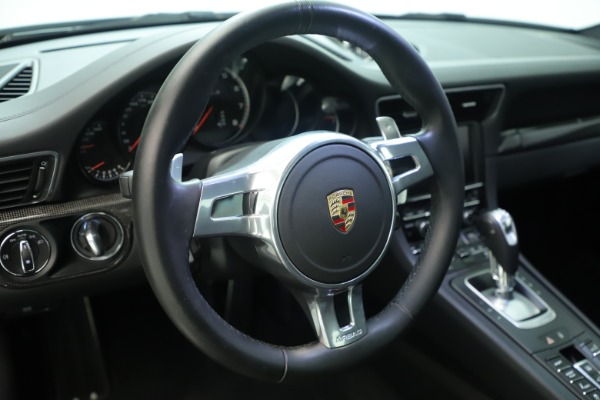 Used 2015 Porsche 911 Turbo S for sale Sold at Rolls-Royce Motor Cars Greenwich in Greenwich CT 06830 23