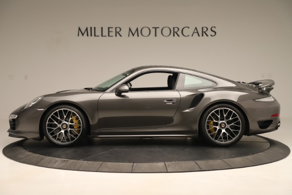 Used 2015 Porsche 911 Turbo S for sale Sold at Rolls-Royce Motor Cars Greenwich in Greenwich CT 06830 3