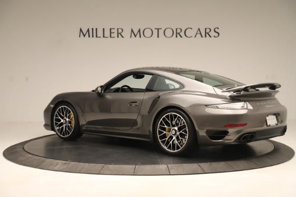 Used 2015 Porsche 911 Turbo S for sale Sold at Rolls-Royce Motor Cars Greenwich in Greenwich CT 06830 4