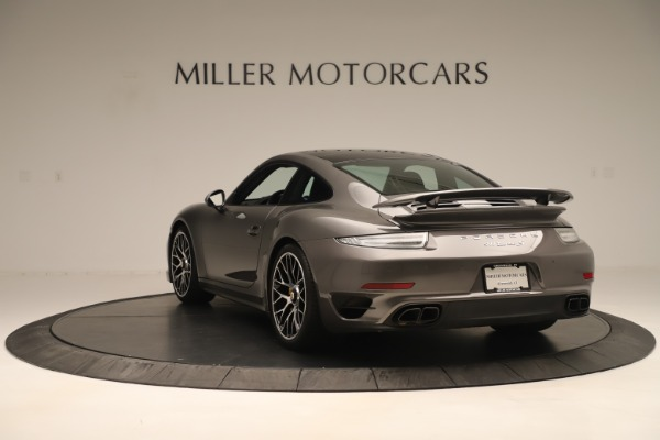 Used 2015 Porsche 911 Turbo S for sale Sold at Rolls-Royce Motor Cars Greenwich in Greenwich CT 06830 5