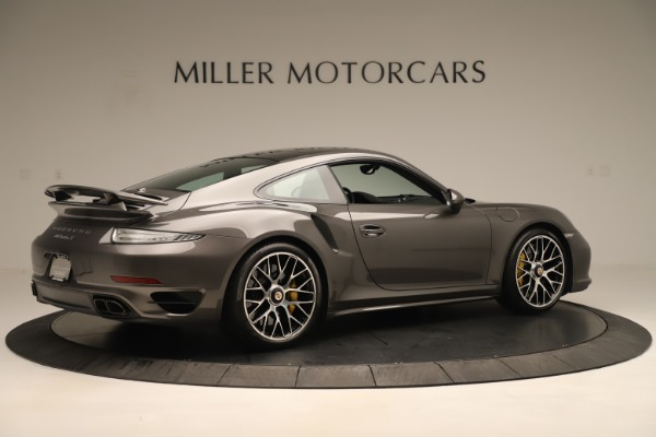 Used 2015 Porsche 911 Turbo S for sale Sold at Rolls-Royce Motor Cars Greenwich in Greenwich CT 06830 8