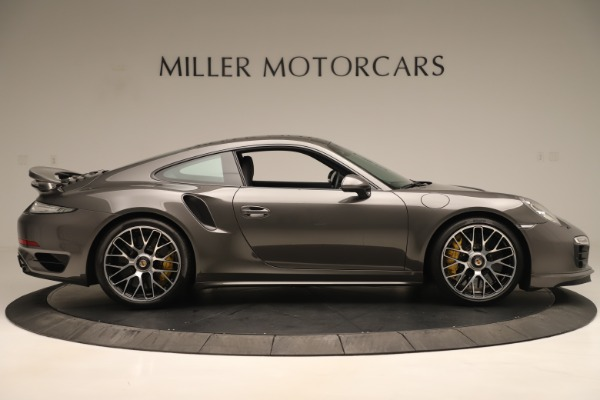 Used 2015 Porsche 911 Turbo S for sale Sold at Rolls-Royce Motor Cars Greenwich in Greenwich CT 06830 9