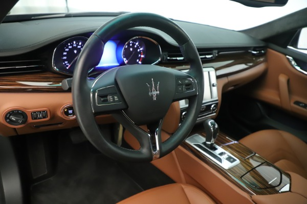 Used 2014 Maserati Quattroporte S Q4 for sale Sold at Rolls-Royce Motor Cars Greenwich in Greenwich CT 06830 13