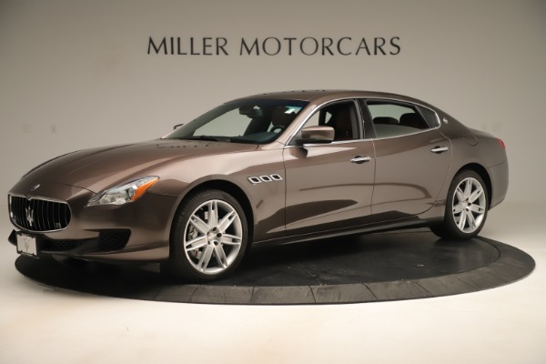 Used 2014 Maserati Quattroporte S Q4 for sale Sold at Rolls-Royce Motor Cars Greenwich in Greenwich CT 06830 2