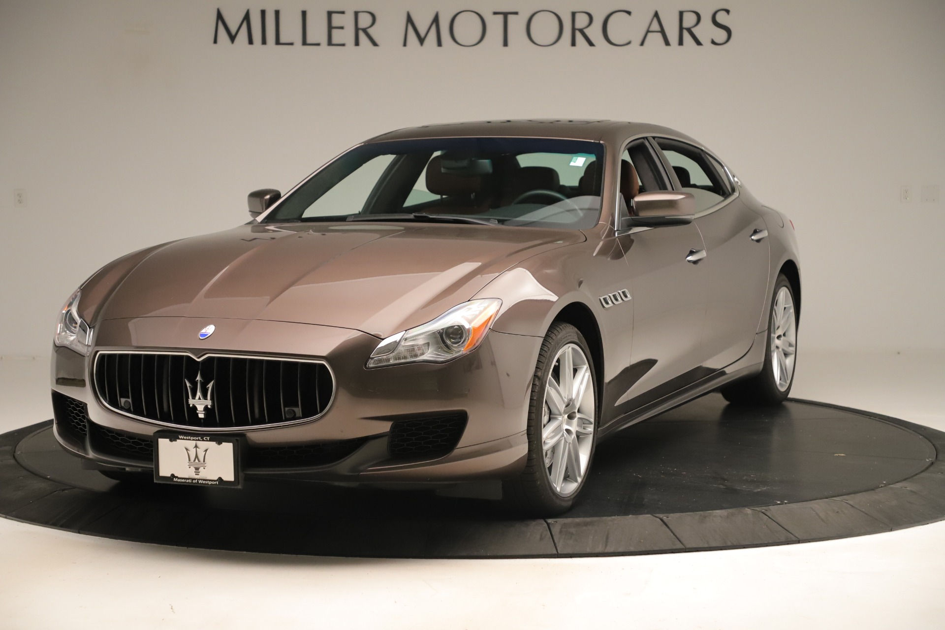 Used 2014 Maserati Quattroporte S Q4 for sale Sold at Rolls-Royce Motor Cars Greenwich in Greenwich CT 06830 1