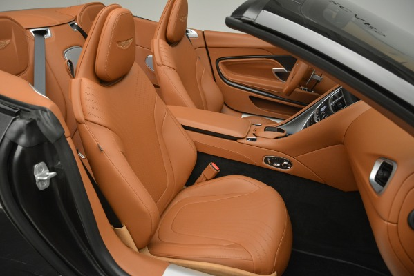 Used 2019 Aston Martin DB11 V8 Volante for sale Sold at Rolls-Royce Motor Cars Greenwich in Greenwich CT 06830 21